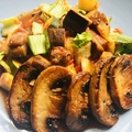 Zöldségragu gomba steakkel