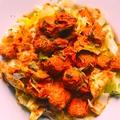 Tandoori csirkemell, salátával