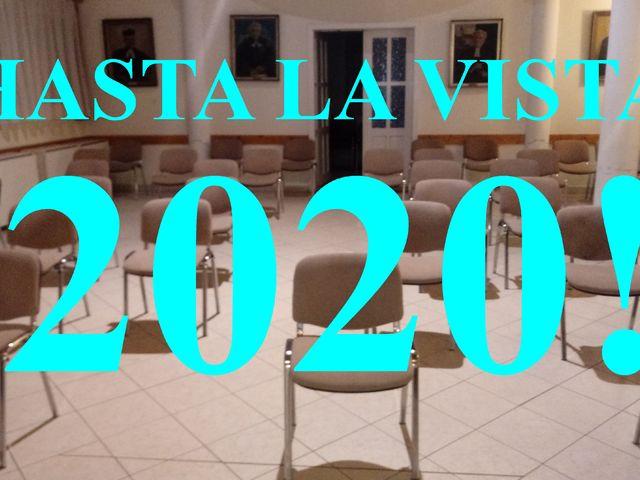 Hasta La Vista 2020!