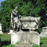 Festetics Géza sírja - Budapest, Fiumei úti temető