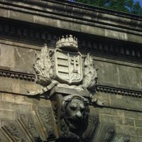 Magyar kiscímer - Budapest, Clark Ádám tér