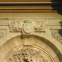 Mátyás címer - Budapest, Mátyás kút