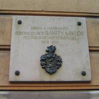 Bánffy címer - Budapest, Reviczky utca 5.