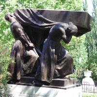 Farkasházy Zsigmond sírja - Budapest, Fiumei úti temető