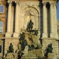 Budavári palota, Mátyás kút