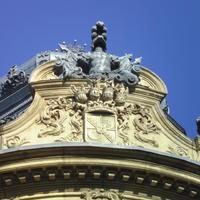 Wenckheim címer - Budapest, Szabó Ervin tér
