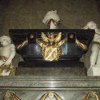 Ágoston Elek címere - Budapest, Ferences templom