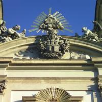 Buda címere - Budapest, Batthyány tér