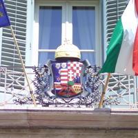 Magyar középcímer - Budapest, Budai Vár, Sándor palota