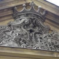 Péterffy és Neffczer címer - Budapest, Péterffy palota