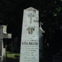 Széll Kristóf sírja - Budapest, Fiumei úti temető