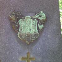 Mikes címer - Budapest, Fiumei úti temető