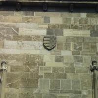 Magyar Anjou-címer - Budapest, Szentháromság tér