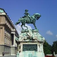 Savoyai Jenő szobra - Budapest, Budavári palota