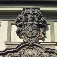 Erdődy címer - Budapest, Táncsics Mihály utca
