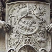 Károlyi címer - Budapest, Reviczky utca (3)
