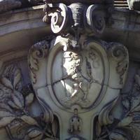 Cziráky címer - Budapest, Kossuth Lajos utca