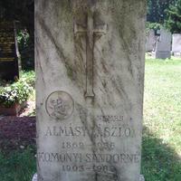 Almásy László sírja - Budapest, Fiumei úti temető