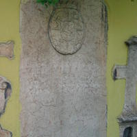 Szerb sírkő - Budapest, Veres Pálné utca (5)