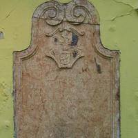 Szerb sírkő - Budapest, Veres Pálné utca (1)
