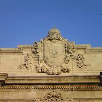 Magyar középcímer - Budapest, Budai Vár, Oroszlános kapu