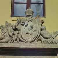 Ismeretlen címer - Budapest, Rókus kápolna