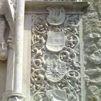 4 címer - Budapest, Hess András tér