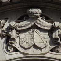 Habsburg és Wettin címer - Budapest, Klotild palota