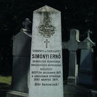 Simonyi Ernő sírja - Budapest, Fiumei úti temető