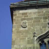 II. András címere - Budapest, Szentháromság tér