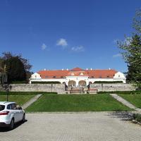 Pomáz - Wattay-Teleki kastély, udvari front
