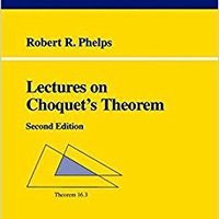 ''TXT'' Lectures On Choquet's Theorem (Lecture Notes In Mathematics). EQUIPO Oficina millones School Parlante