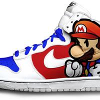Super Mario Nike cipő