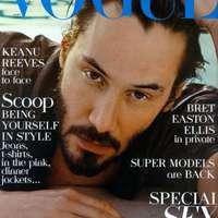 Keanu Reeves a Vogue címlapján