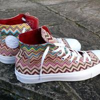 Converse + Missoni tornacipő