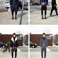 Farmer, bőr és szoknya: Givenchy őszi kollekció