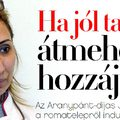 Aranypánt-díjas hétköznapi roma hősnő