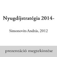 Vita: Nyugdíjstratégia 2014-