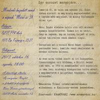 Márai-estek a Kazinczyban