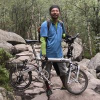 Yoshihiro új bringája