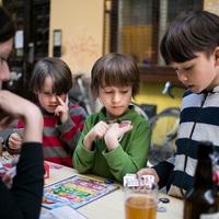 Autómentes gyermeknap a Kazinczy utcában -