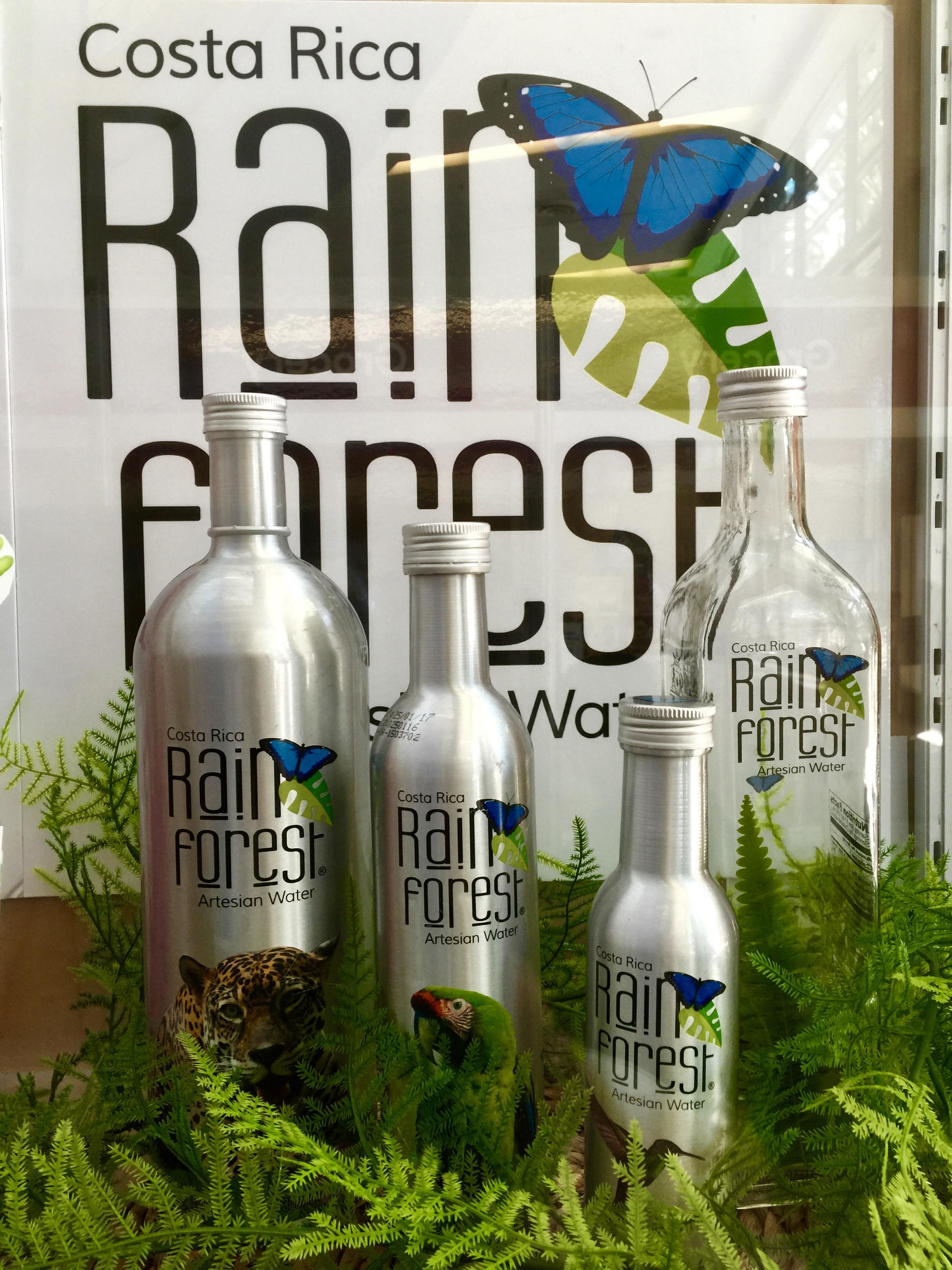 Víz egyenest az esőerdőből