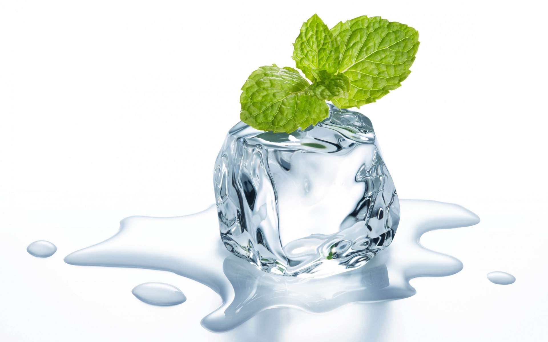 mint-leaves-on-ice-slice-3d-glass-wallpaper.jpg