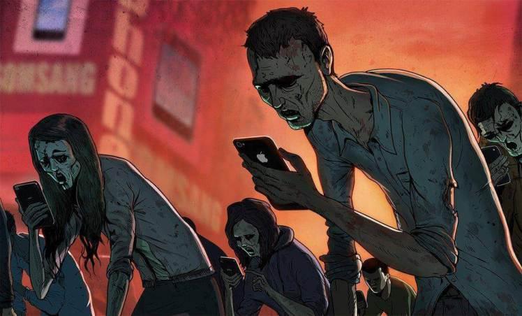 steve-cutts-phone-zombies Te különleges vagy,Neked minden jár, vagy mégsem?