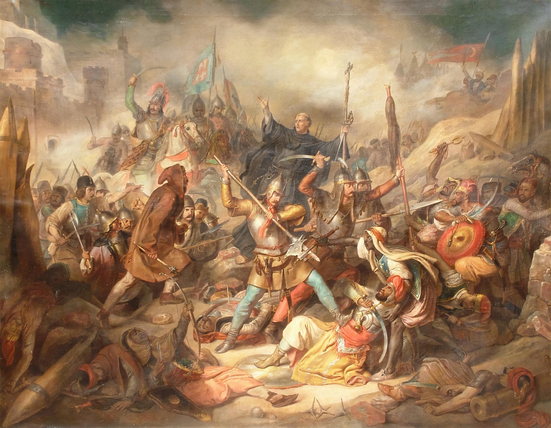 1456_julius_22-en_capestrano_szent_janos_es_hunyadi_janos_magyarok_szerbek_es_katolikus_keresztesek_sereget_vezette_gyozelemre_ii_mehmed_es_az_oszman_torokok_ellen_feloldva_belgrad_ostromat.jpg