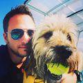 Sir Mók #swimming #pool #ruffwear #dog #caninerehab #dogstagram #hydrotherapy