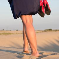 A nő, ha nyaralni készül