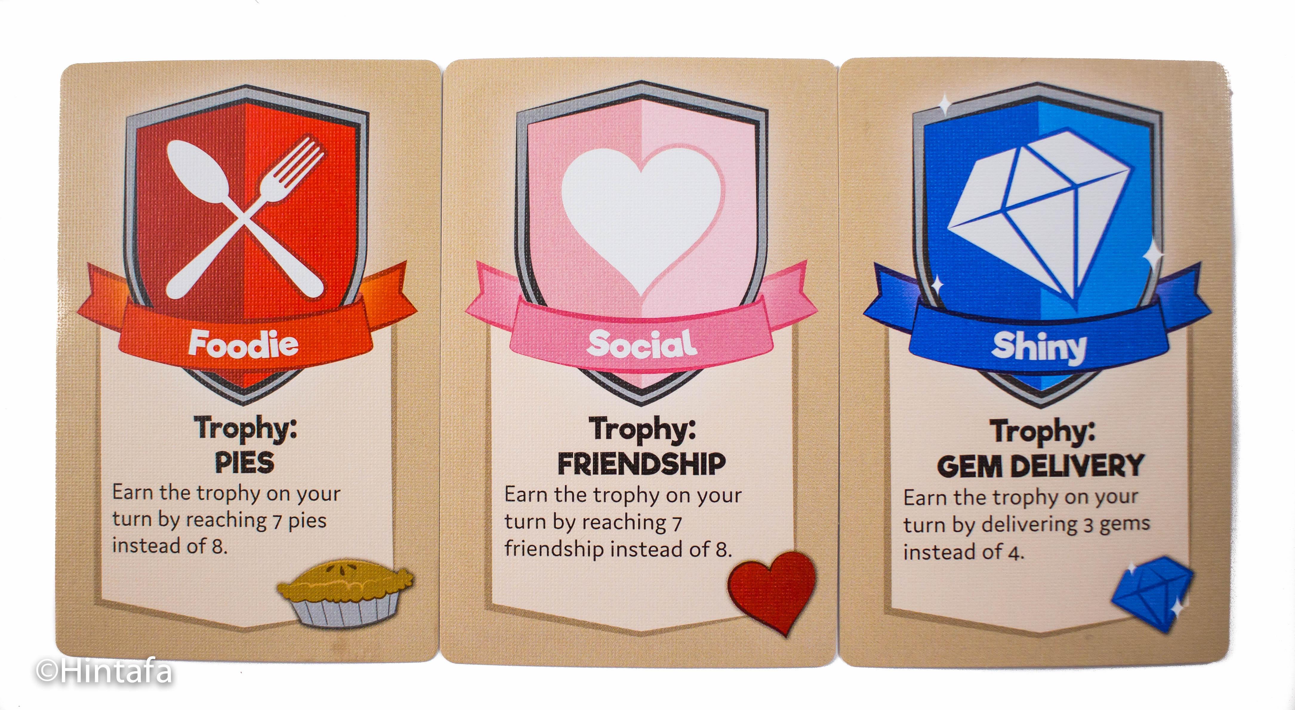 Személyiségkártyáink megkönnyítik a trófeák gyűjtését