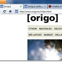Chrome-os egyszerűség, operás ötletek, kényelmes kezelés: itt a Firefox 4