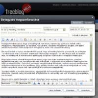 Itt az új freeblog, vundabá